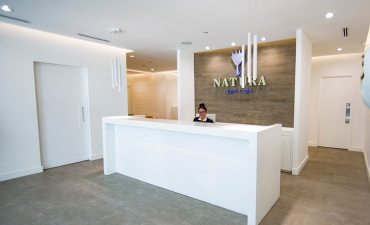 Natura Gym + Spa Reception
